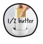 MoHA! Presto Butter Mill, White - 2