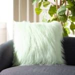 Caelie Faux Fur Pillow - 2