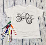 Monster Truck Kids Graphic Tee - 1