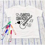 Love Rocks Kids Graphic Tee - 1