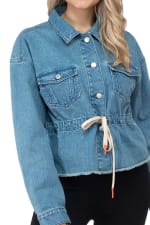 26 International Denim Anorak with Drawstring Waist - 4