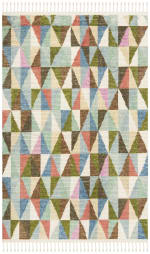 Safavieh Wool Multicolor Rug - 1