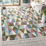 Safavieh Wool Multicolor Rug - 2