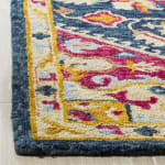 Safavieh Navy Wool Rug - 10