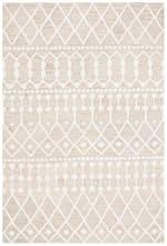 Tan Wool Rug 4' x 6' - 1