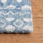 Essence Blue Wool Rug 9' x 12' - 3