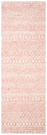 "Essence Pink Wool Rug 2'5"" x 4' - 1"