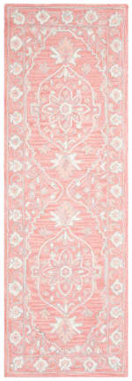 "Safavieh Essence Pink Wool Rug 2'25"" x 7' - 1"