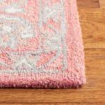 "Safavieh Essence Pink Wool Rug 2'25"" x 7' - 3"