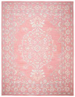 Essence Pink Wool Rug 9' x 12' - 1