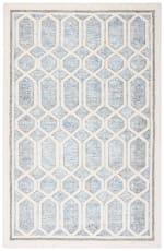 Safavieh Adelina 665 Ivory & Blue Wool Rug - 1