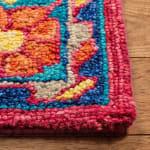 Safavieh Vail Red & Blue Wool Rug - 3