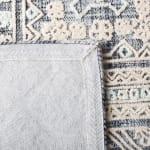Safavieh Vail White & Blue Wool Rug - 4