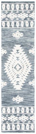 Vail Dark Gray & Ivory Wool Rug - 1