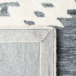 Vail Dark Gray & Ivory Wool Rug - 4