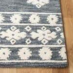 Vail Dark Gray & Ivory Wool Rug - 3