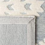 Safavieh Vail ray & Ivory Wool Rug - 4