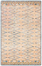 Safavieh Vail Gold & Red Wool Rug - 1
