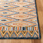 Safavieh Vail Gold & Red Wool Rug - 3