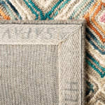 Vail Green & Red Wool Rug - 8