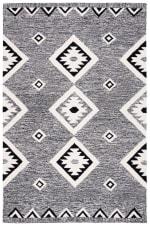 Vail Black & Ivory Wool Rug - 2