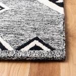 Vail Black & Ivory Wool Rug - 3