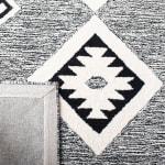 Vail Black & Ivory Wool Rug - 4