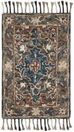 Safavieh Vail Gray & Brown Wool Rug - 1