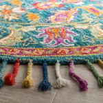 Safavieh Vail  Blue & Purple Wool Rug - 10