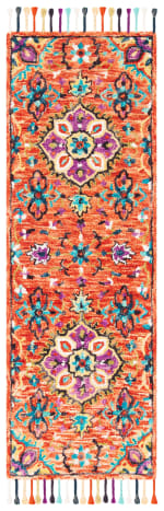 Vail Red & Gold Wool Rug - 9