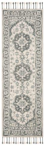 Vail Gray & Light Gray Wool Rug - 1