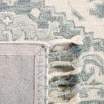 Vail Gray & Light Gray Wool Rug - 4