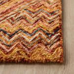 Safavieh Vail Gold & Pink Wool Rug - 7