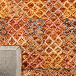 Safavieh Vail Gold & Pink Wool Rug - 8