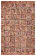 Safavieh Vail Pink & Blue Wool Rug - 5