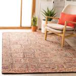 Safavieh Vail Pink & Blue Wool Rug - 6