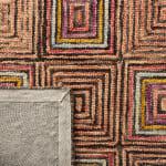Safavieh Vail Pink & Blue Wool Rug - 8