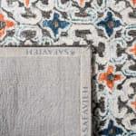 Safavieh Vail  Blue & Brown Wool Rug - 8