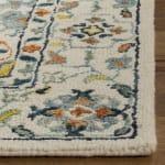 Vail Ivory & Blue Wool Rug - 3
