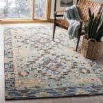 Vail Blue & Brown Wool Rug - 2
