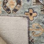 Vail Blue & Brown Wool Rug - 4