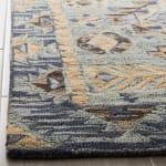Vail Blue & Brown Wool Rug - 3