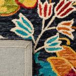 Safavieh Vail Black & Blue Wool Rug - 24