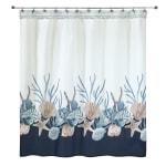 Blue Lagoon Shower Curtain - 1