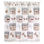Gone Glamping Shower Curtain - 1