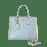 Prada Saffiano Lux Two Way Tote Bag - 1