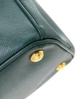 Prada Galleria Double Zip Tote Medium Bag - 4