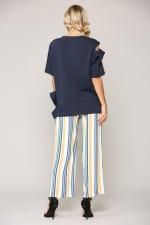 Kate Cotton Knit Top - 2