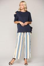 Kate Cotton Knit Top - 1