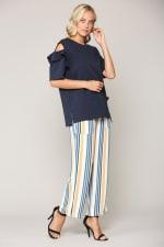 Kate Cotton Knit Top - 3